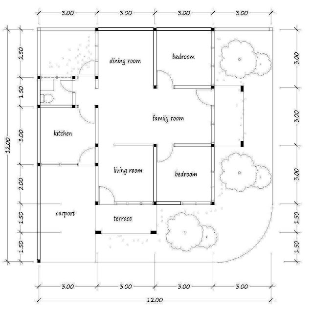 floor Plan for Plan a-27