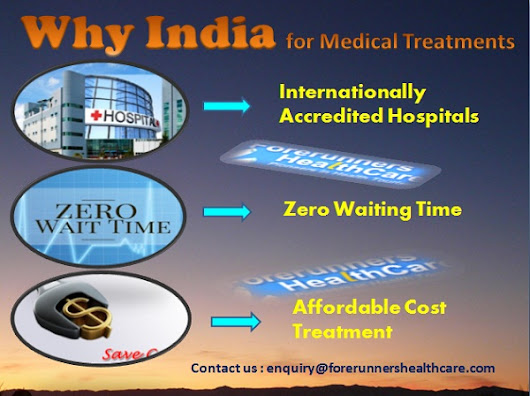 7 Great points How India is Best Destination for your Medical Treatments
