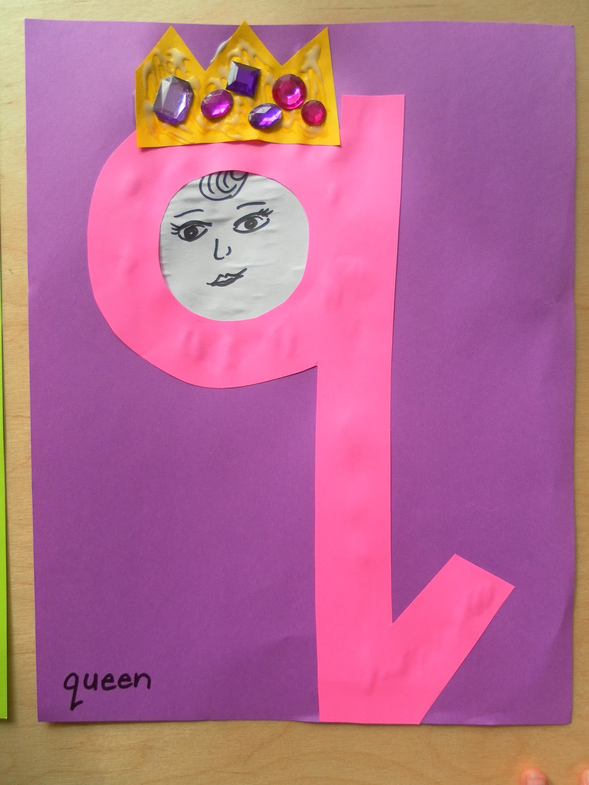 English For Fun Q Is For Queen