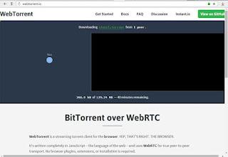 Отзыв об WebTorrent: торренты в браузере без плагинов.