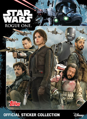 topps star wars rogue one sticker album