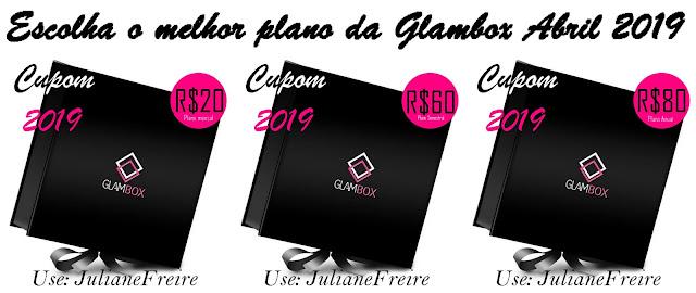 MAIOR CUPOM DESCONTO GLAMBOX ABRIL 2019