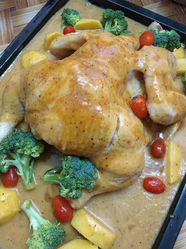 Resepi Ayam Ala Kenny Rogers Azlita