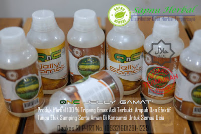 Obat Herpes Zoster & Genital (Simplex) Herbal QnC Jelly Gamat