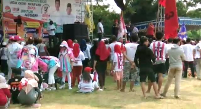 Meski Menghadirkan Angel Karamoy, Kampanye Jokowi-Amin Sepi