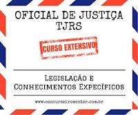 Concurso Oficial de Justiça