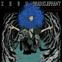 ZEBU & DEAD ELEPHANT (7''split) artwork by Putrefurnaced Guerrilla Sketches