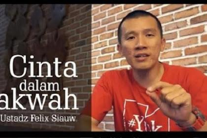 Felix Y Siauw Tantang Yang Menolak Dakwahnya Untuk 'Satu Meja'..