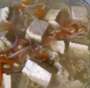 resep Sup Tahu Tauge Wortel  Sosis