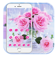 Pink Rose Theme APK