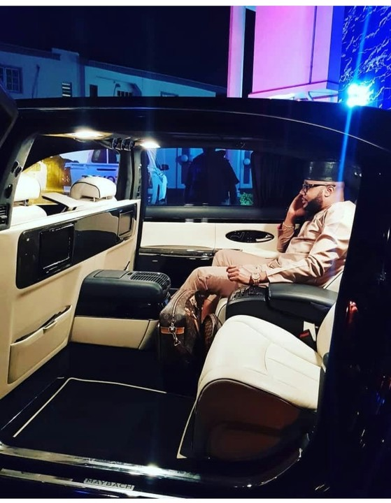E-money flaunts his $500k Maybach in new photos