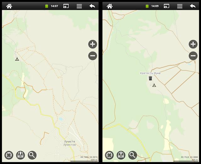 Программа MapsWithMe Pro