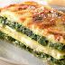recettes faciles: Lasagnes aux épinards