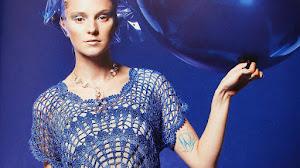 Remera Con Motivo Redondo al Crochet / Patrones