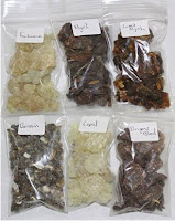Resin incense selection, on Amazon
