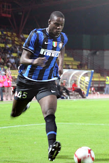 Balotelli was a sensation in his  early days at Internazionale
