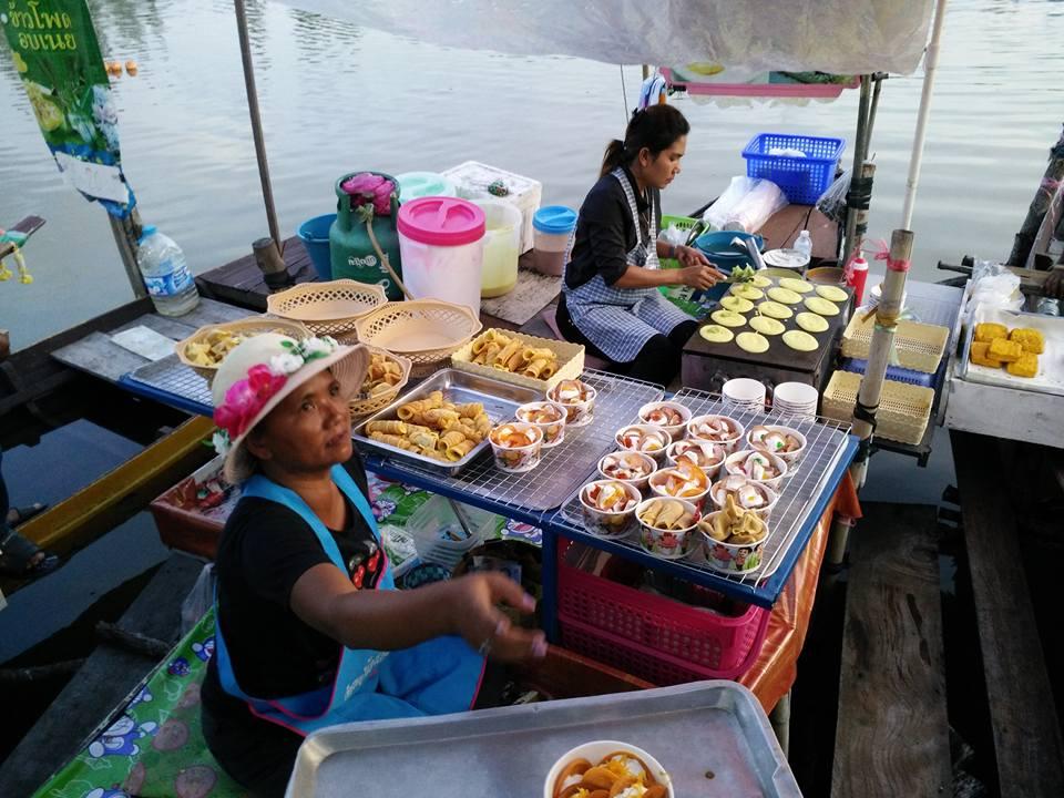 Ban Pru Floating Market