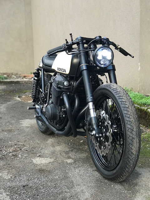 Honda CB750 By Seaweed and Gravel Hell Kustom
