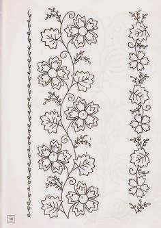 El mundo seredipity gu a de flores - Cenefas para dibujar ...