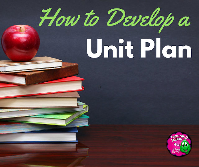 How to Develop a Unit Plan - Post discusses the steps used to develop a curriculum unit using backwards design. A sample unit  and a free template are included.