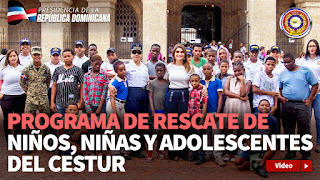 Más de 1,700 niños y niñas han sido rescatados a través de programa CESTUR, desde el 2012 a la fecha