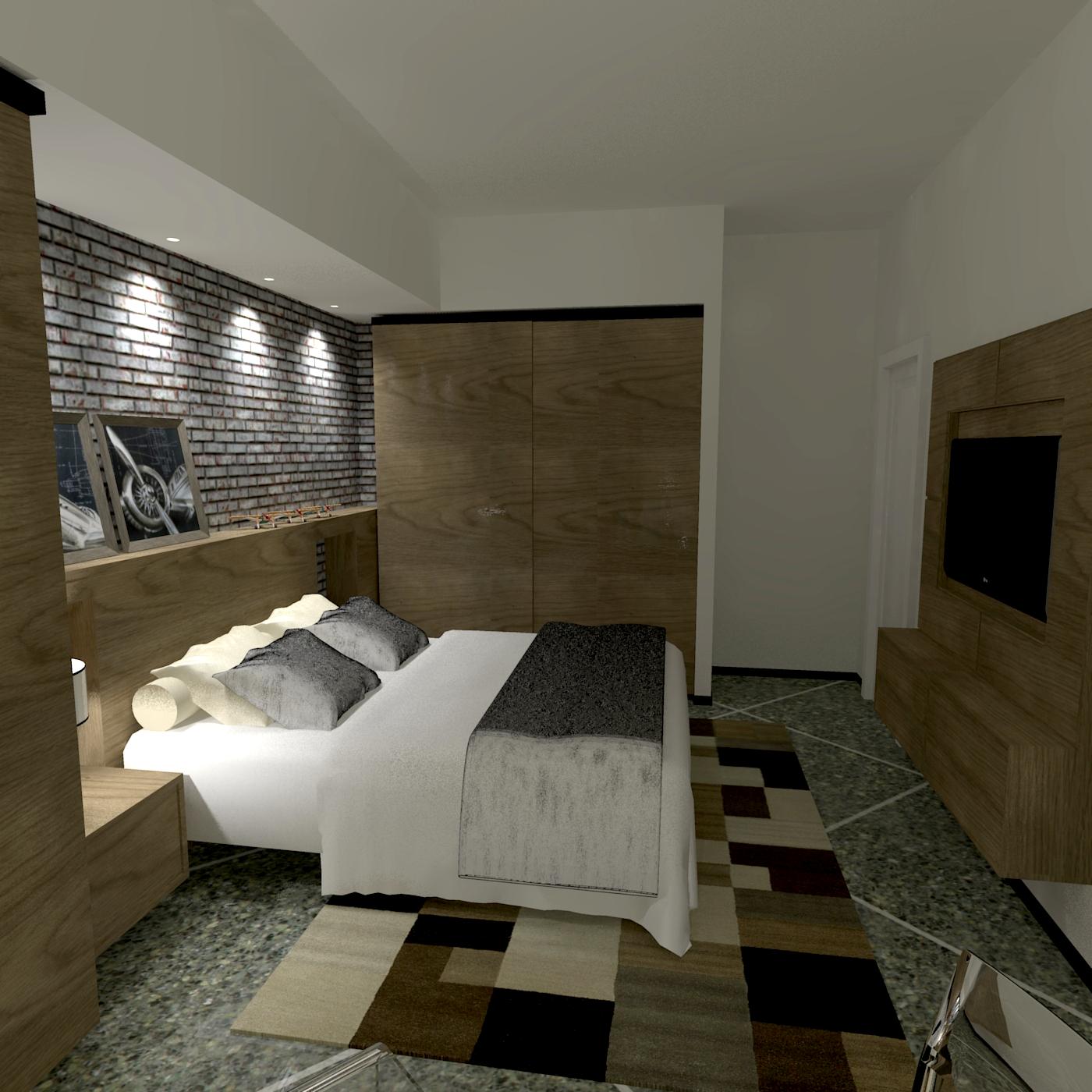 Ben noto Camera da letto matrimoniale - ATP STUDIO YV79