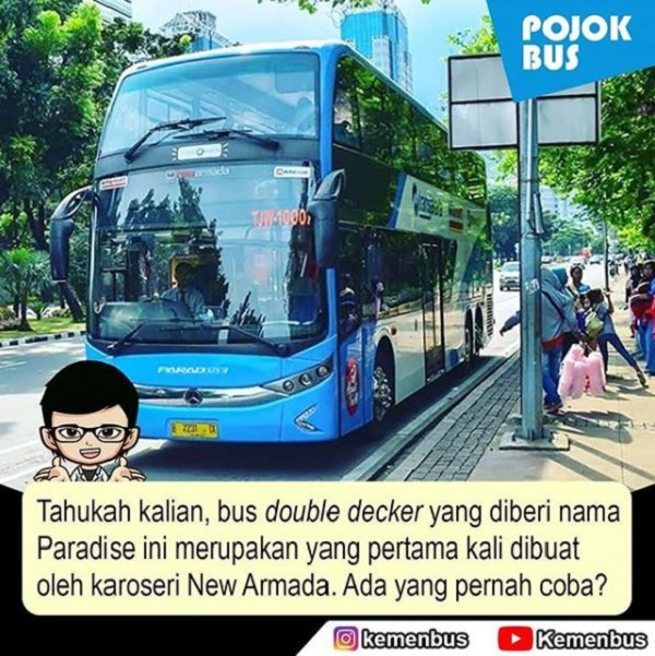 Paradise Double Decker dari New Armada