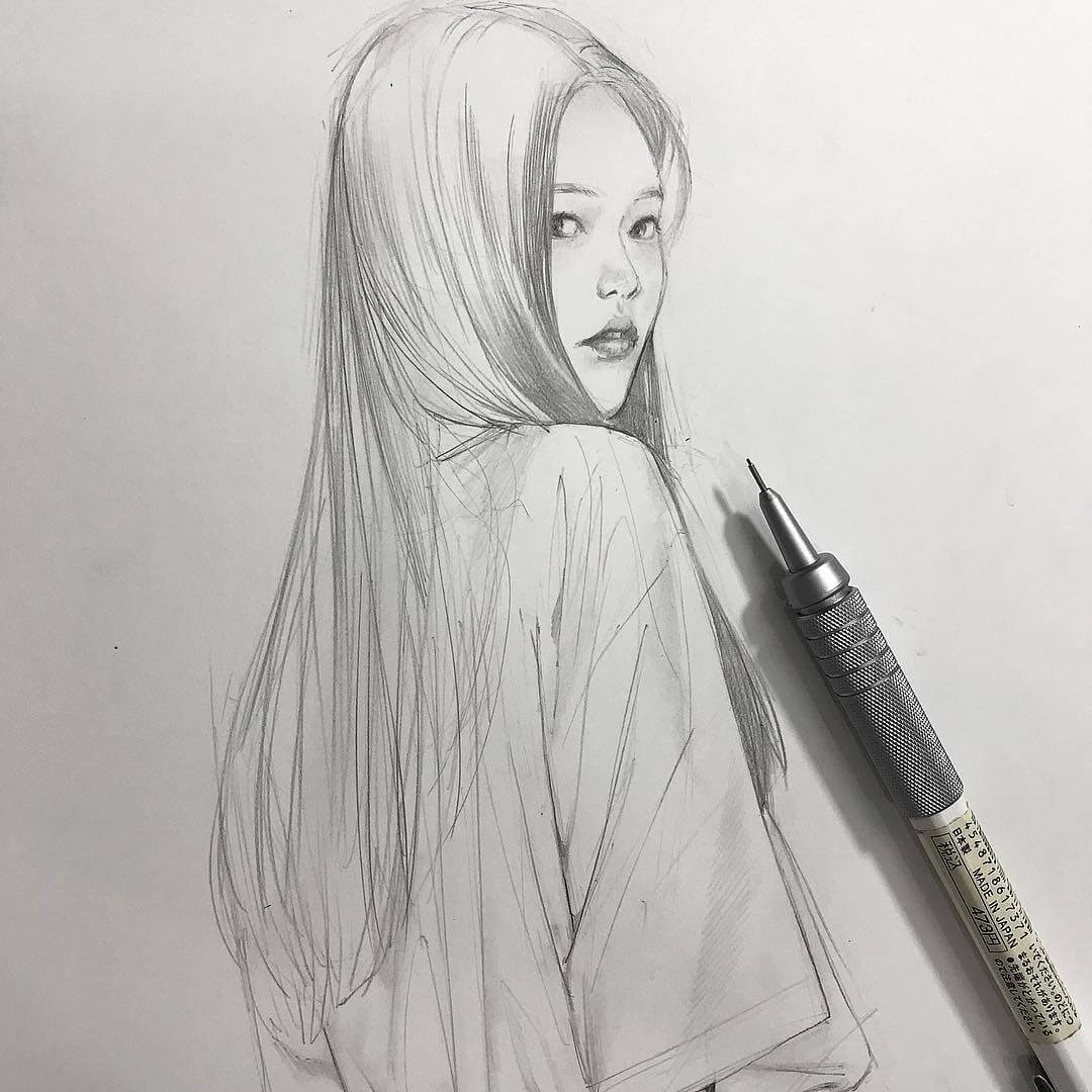 01-Chibana-Pen-and-Pencil-Portrait-Sketches-www-designstack-co