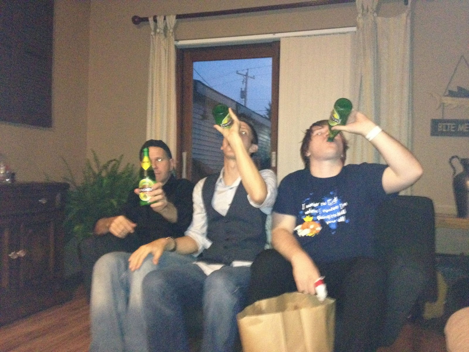 The Guys Enjoying a Cold One (2012)