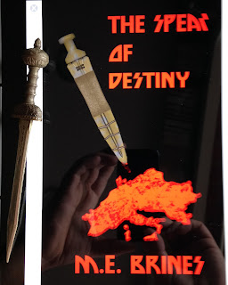 Portada del libro The Spear of Destiny, de M. E. Brines