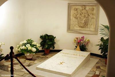 Tumba Juan Pablo II