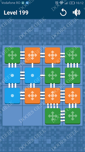 Connect Me - Logic Puzzle Level 199 Solution, Cheats, Walkthrough for android, iphone, ipad and ipod