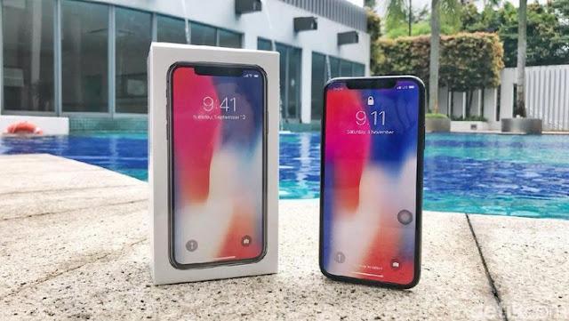 Ini Tanggal Resmi Peluncuran iPhone X Masuk Indonesia