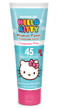 hello kitty face sunscreen