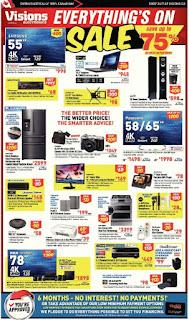 Vision Electronics Sale Save up 75% Jan 12 – Jan 18, 2018