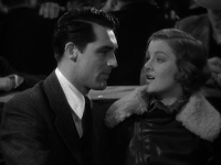 Cary Grant and Myrna Loy in Wings in the Dark