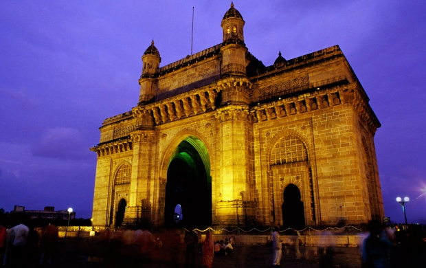 best wallpapers in hd of Gateway of India at night