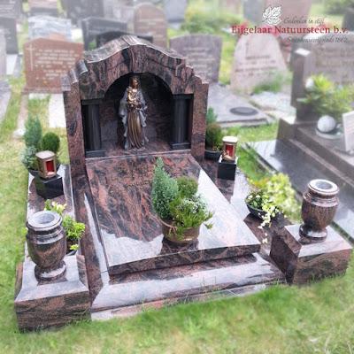 graftempel, grafsteen tempel