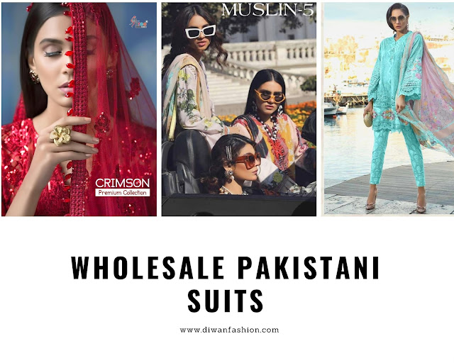 Wholesale pakistani suits online