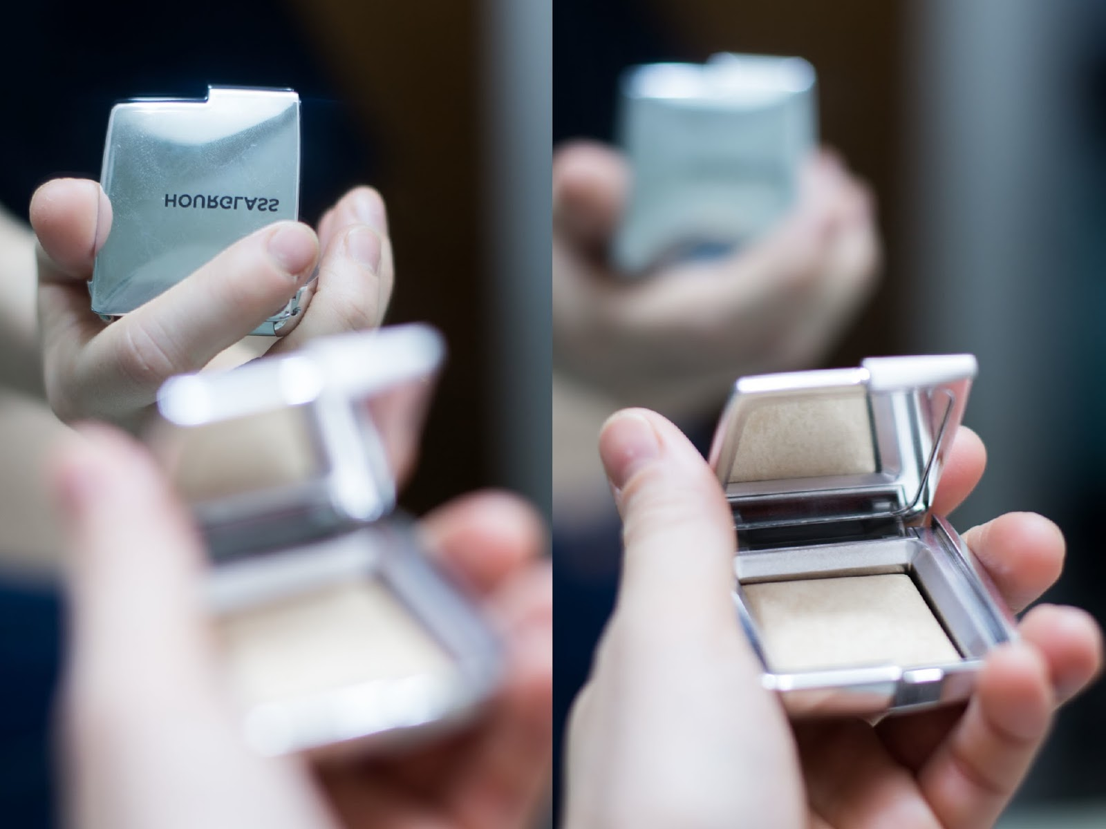 Fall Winter make-up routine - Favorite beauty products - Hourglass ambient strobe lighting powder