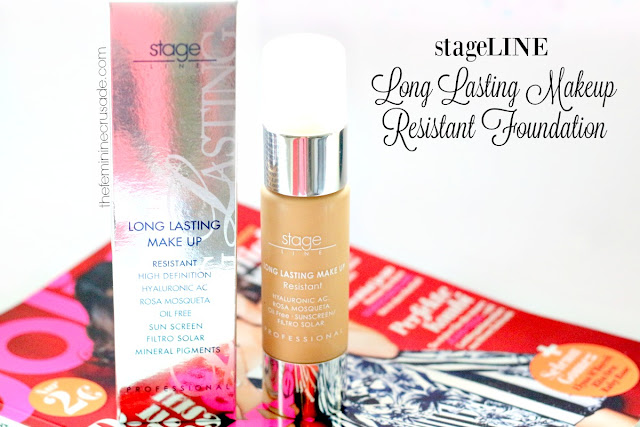 Stageline Long Lasting Makeup Resistant Foundation