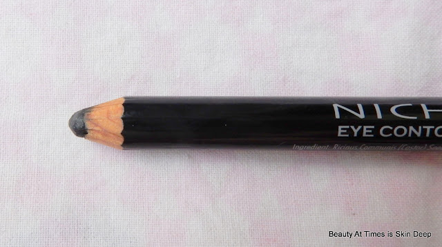 Nichido Girls Night Out Eye Pencil 01 Blackest Black