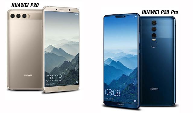 Punya Kamera Terbaik, Ini Spesifikasi Huawei P20 dan P20 Pro