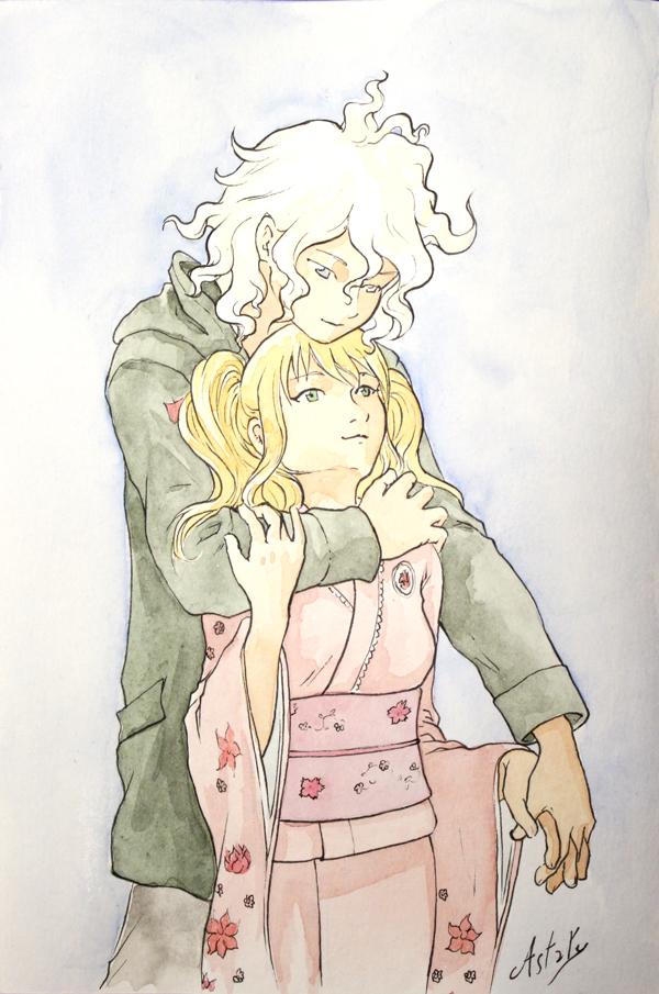 un ptit couple - dessin manga