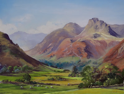 Day twenty two Art advent Langdales