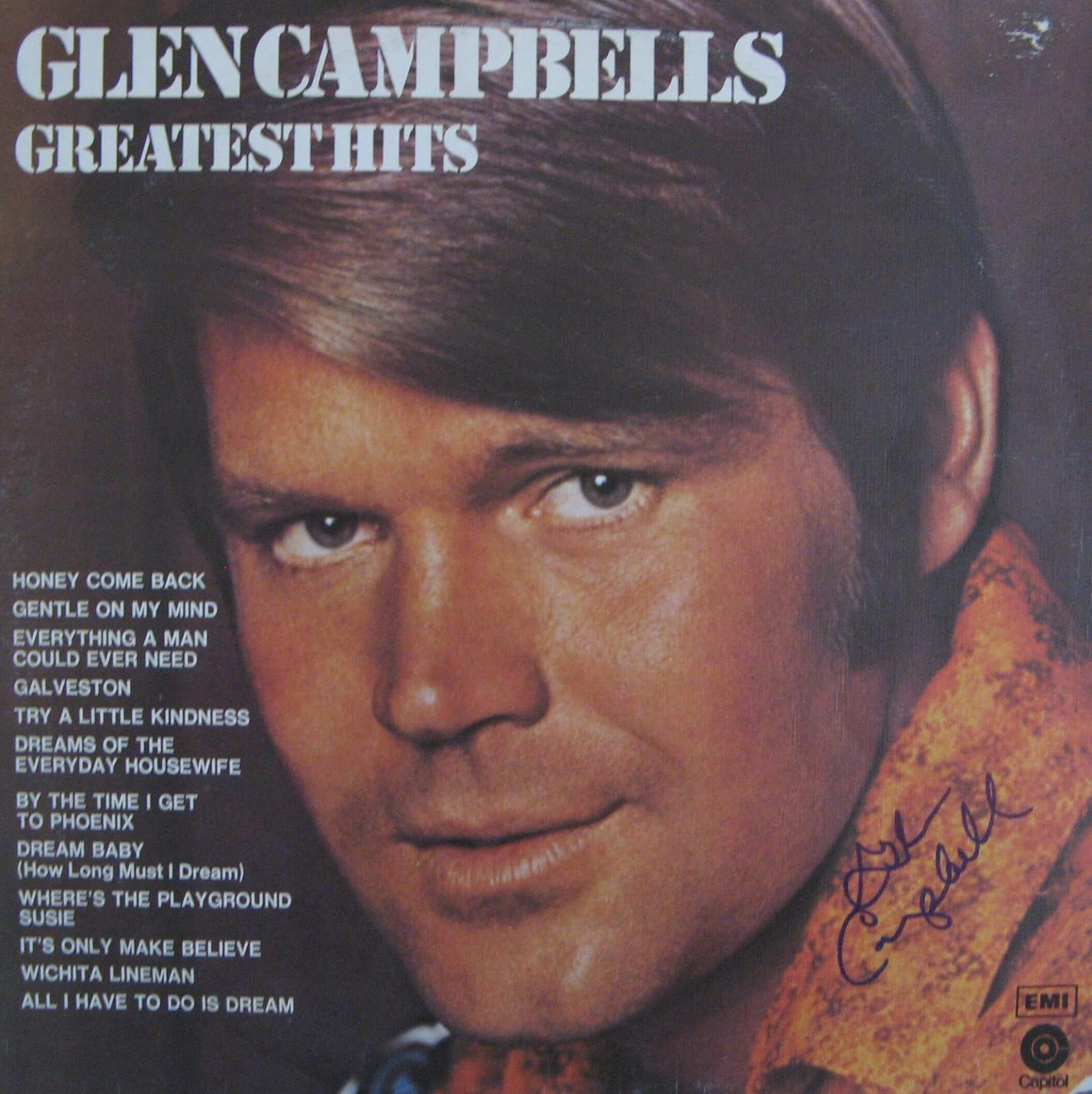 Is Glen Campbell Still Alive: It Starts With A Birthstone...: Album Reviews # 71 Glen