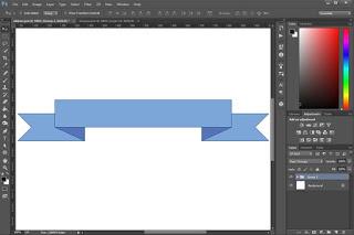 Cara Membuat Pita Dengan Photoshop Warta Iptek