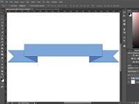 Cara Membuat Pita Dengan Photoshop