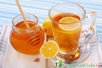 Cách chữa hôi miệng bằng mật ong và chanh