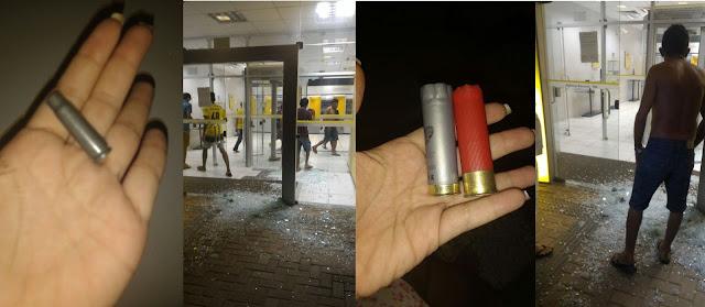Resultado de imagem para Criminosos explodem duas agências bancárias em Baraúnas